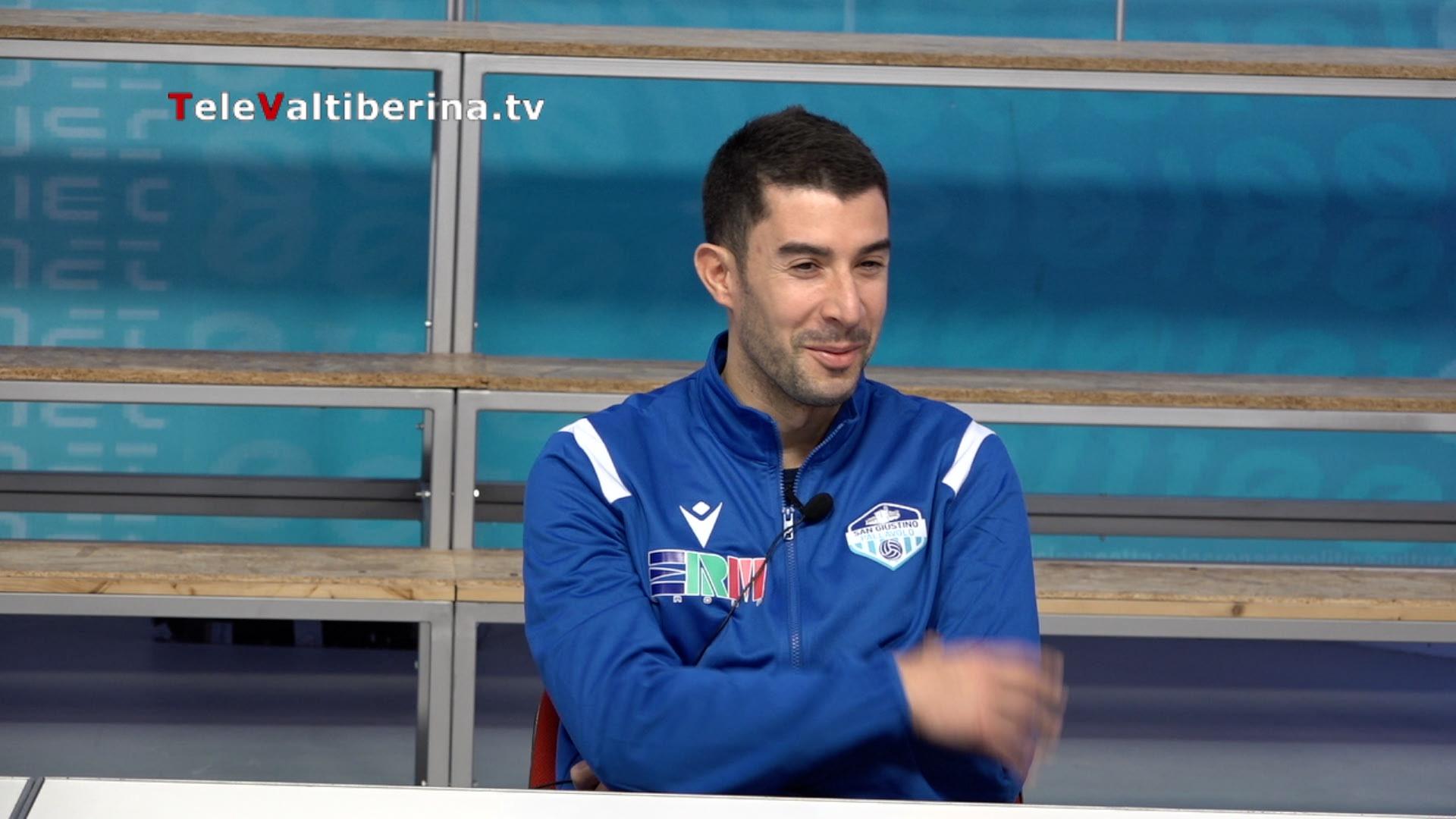 """Pallavolo: Davide Marra """"San Giustino società importante, mi sento ancora un professionista"""""""